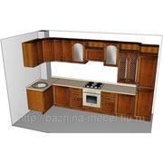 """Угловая кухня с итальянскими фасадами """"Арена"""" фото"""