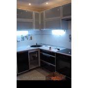 Кухни с алюминиевыми фасадами фото
