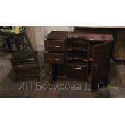 Изготовление по индивидуальным заказам из ценных пород дерева ( ДУБ, БУК) мебель, кухни, кровати фото