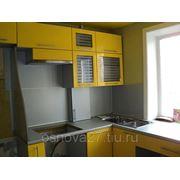 Кухня лак Желтая
