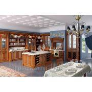 """Шикарная кухня с итальянскими фасадами """"Страдивари"""" фото"""
