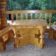 Деревянный набор для отдыха