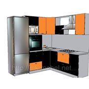 Эскиз кухни на заказ фото