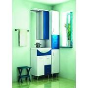 Зеркало Стиль-55 левое/правое син-бел.Комплект лотк.1036-3L(00008966) фото