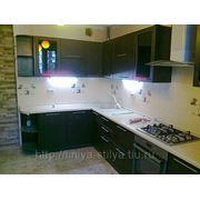 Кухня цвет венге фото