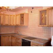 Кухонный гарнитур фасад массив дуба патина фото