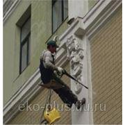 Мытье фасадов фото