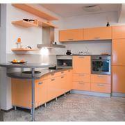 Кухонный гарнитур с полимерным фасадом