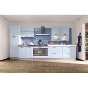 Кухня BRAVA (МДФ/ПВХ голубой) фото