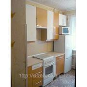 Фасады: Оранжевый и Белый глянец, корпус:Бук 5113. Кухни глянец