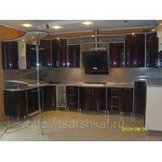Радиусные кухни Р12 фото
