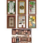 Витражи для кухонных и мебельных фасадов фото