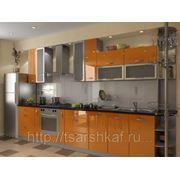 Кухни из пластика П27 фото