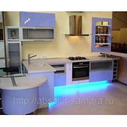 Радиусная кухня фото