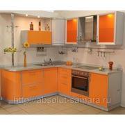 Угловая кухня фотография
