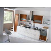 Кухня MEDITERRANEA Вишня + МДФ лакокраска фото