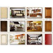 Кухни с фасадами из массива фото