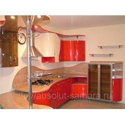 Крашеная кухня фото