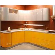 Кухни (МДФ) -гнутые фасады фото