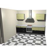 Кухня венге - дуб молочный фото