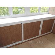 Шкаф под вынос балкона фото