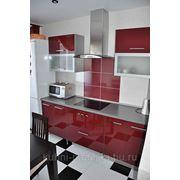 Кухня на заказ из акрила фото