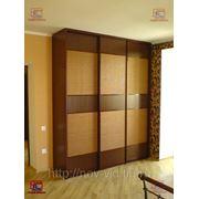 Шкафы-купе, встроенная мебель изготовление под заказ в Краснодаре.