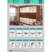 Рисунки на зеркалах для шкафов, дверей-купе и мебели на заказ.
