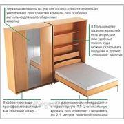 Шкаф-кровать. фото