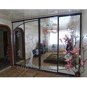 Зеркальный шкаф купе (зеркальные двери) фото