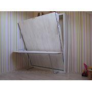 Шкаф кровать со столом фото