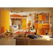 """Детская спальня """"Апельсин"""" фото"""
