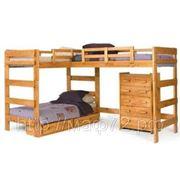 Кровать для троих детей МАФик-1-т фото