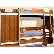 Детская двухярусная кровать на заказ фото