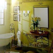 Мебель для ванной из металла (007)