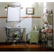 Мебель для ванной из металла (005)