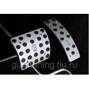 Алюминиевые накладки на педалии фото