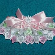 Подвязка для невесты фото