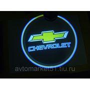 Проектор в двери автомобиля 5W (компл. 2шт.) CHEVROLET 037