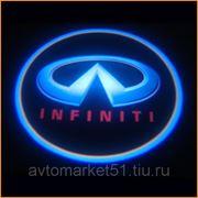 Проектор в двери автомобиля 5W (компл. 2шт.) INFINITY 076
