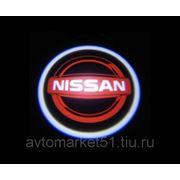 Проектор в двери автомобиля 5W (компл. 2шт.) NISSAN 068 фото