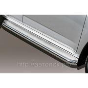 """Пороги с нерж. листом D60 """"Toyota Rav4 SWB 2010"""" фото"""