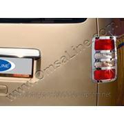 Накладки на стопы VW Caddy 2010'-... фото