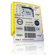 Термоиндикатор транспортировки товаров Q-tag 2 plus (одноразовый) фото