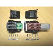 Разъемы для подключения к ЭБУ М74, Микас 12 (2 колодки+2 крышки+20 контактов) фото