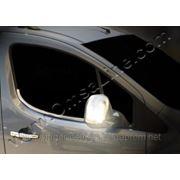 Окантовка стекл Peugeot Partner 2008'-... фото