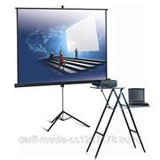 Аренда мультимедийного проектора 2800 ANSI с экраном (178 х 178 см) фото