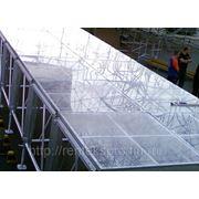 Изготовление прозрачных подиумов фото