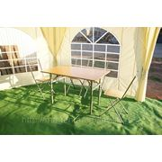 Прокат стола прямоугольного 120*80см фото