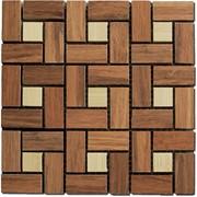 Мозаика из бамбука фото